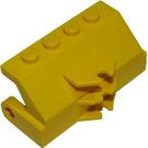 LEGO Yellow Car Brush Holder with Hinge Bottom (2578)
