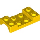 LEGO Car Mudguard 2 x 4 without Hole (3788)