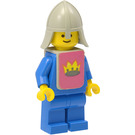 LEGO Yellow Castle Knight Blue Minifigure