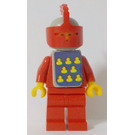 LEGO Yellow Castle Knight Red Cavalry Minifigure