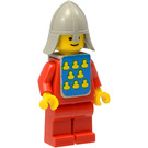 LEGO Yellow Castle Knight Red Minifigure