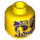 LEGO Jaune Chope Plain Diriger (Goujon solide encastré) (19295)