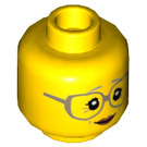 LEGO Yellow City People Pack Grandmother Plain Head (Recessed Solid Stud) (26848)
