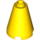 LEGO Yellow Cone 2 x 2 x 2 (Open Stud) (3942 / 14918)