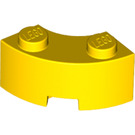 LEGO Yellow Corner Brick 2 x 2 with Stud Notch and Reinforced Underside (85080)