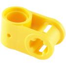 LEGO Yellow Cross Block 90° 1 x 2 (Axle/Pin) (6536 / 40146)