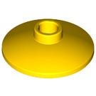 LEGO Yellow Dish 2 x 2 Inverted (4740)