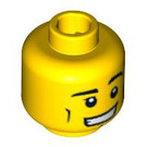 LEGO Diver Head (Recessed Solid Stud) (3626 / 90945)