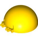 LEGO Yellow Dome with Hinge 8 x 8 x 3 (95198)