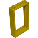 LEGO Yellow Door 1 x 3 x 4 Frame