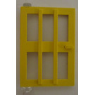 LEGO Yellow Door 1 x 4 x 5 with 6 Panes Left