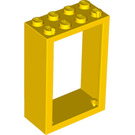LEGO Yellow Door 2 x 4 x 5 Frame (4130)