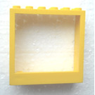 LEGO Yellow Door Frame 2 x 6 x 5