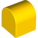 LEGO Yellow Duplo Brick 2 x 2 x 2 with Curved Top (3664)