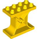 LEGO Yellow Duplo Column 2 x 4 x 3 (4537 / 73351)
