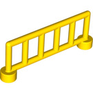LEGO Yellow Duplo Fence 1 x 6 x 2 with 6 Slats (12602)
