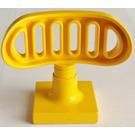 LEGO Yellow Duplo Radar Antenna Assembly