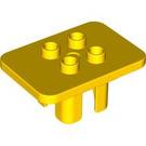 LEGO Yellow Duplo Table 3 x 4 x 1.5 (6479)