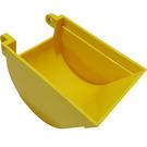 LEGO Yellow Excavator Bucket 6 x 9 without Teeth
