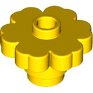 LEGO Yellow Flower 2 x 2 with Open Stud with Open Stud (4728)
