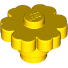 LEGO Yellow Flower 2 x 2 with Solid Stud (98262)