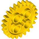 LEGO Yellow Gear with 24 Teeth (3648)