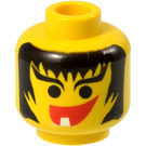 LEGO Yellow Head with Single Tooth (Safety Stud)