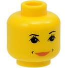 LEGO Hermione Granger Minifigure Female Head with Decoration (Safety Stud) (3626)