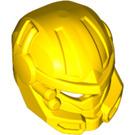LEGO Yellow Hero Factory Minifig Robot Head (Helmet) (15346)