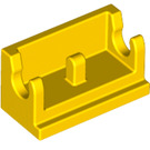 LEGO Yellow Hinge 1 x 2 Base (3937)