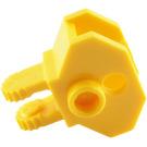 LEGO Yellow Hinge 1 x 2 Locking with Towball Socket (30396)