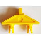 LEGO Yellow Hinge 1 x 3 with double Pin (30624)