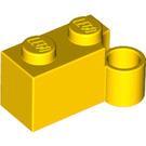 LEGO Yellow Hinge Brick 1 x 4 Base (3831)