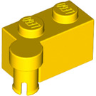 LEGO Yellow Hinge Brick 1 x 4 Top (3830)