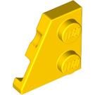 LEGO Yellow Left Wedge Plate 2 x 2 27° (24299)
