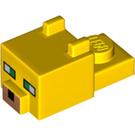 LEGO Yellow Minecraft Ocelot Head (24007)