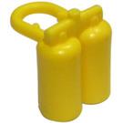 LEGO Yellow Minifig Airtanks (3838 / 90226)
