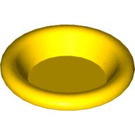 LEGO Yellow Minifig Dinner Plate (6256)