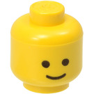 LEGO Minifig Head with Standard Grin (Solid Stud) (9336 / 55368)