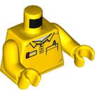 LEGO Yellow Minifig Torso (76382)