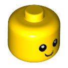 LEGO Yellow Minifigure Baby Head without Neck (24581 / 26556)