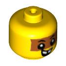 LEGO Yellow Minifigure Figure Baby Head (49519)