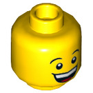 LEGO Minifigure Head with Decoration (Recessed Solid Stud) (23094)