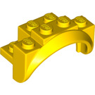 LEGO Yellow Mudguard 2 x 4 x 2 (35789)