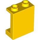 LEGO Yellow Panel 1 x 2 x 2 with Side Supports, Hollow Studs (87552)