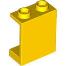 LEGO Yellow Panel 1 x 2 x 2 without Side Supports, Hollow Studs (4864)