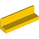 LEGO Yellow Panel 1 x 4 x 1 with Rounded Corners (15207 / 30413)