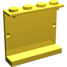 LEGO Yellow Panel 1 x 4 x 3 without Side Supports, Solid Studs (4215)