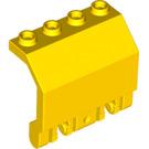 LEGO Yellow Panel 2 x 4 x 2 with Hinges (44572)