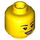 LEGO Parker L. Jackson Plain Head (Recessed Solid Stud) (3626 / 56242)